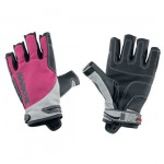 Spectrum 3/4 Finger Gloves Black / Fuchsia