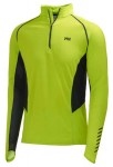 Pace 1/2 Zip Ls 2 Lime Man