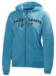 Graphic F/Z Hoodie Bright Sky Woman