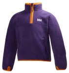Microfleece Half-zip Imperial Purple Kid